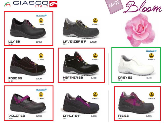 Giasco Linea Bloom Giasco Linea Miss Blooms. Modelli S3  Lily ... 0fede9c55d6