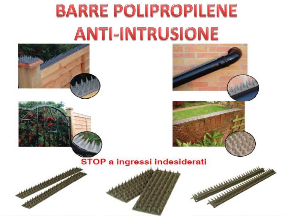 Barre in polipropilene anti intrusione nuova ferramenta - Barre antintrusione per finestre ...