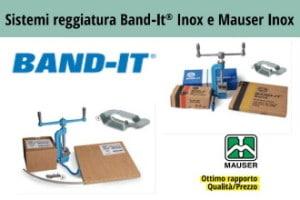 Band-it Inox & Mauser Inox Sistema di reggiatura