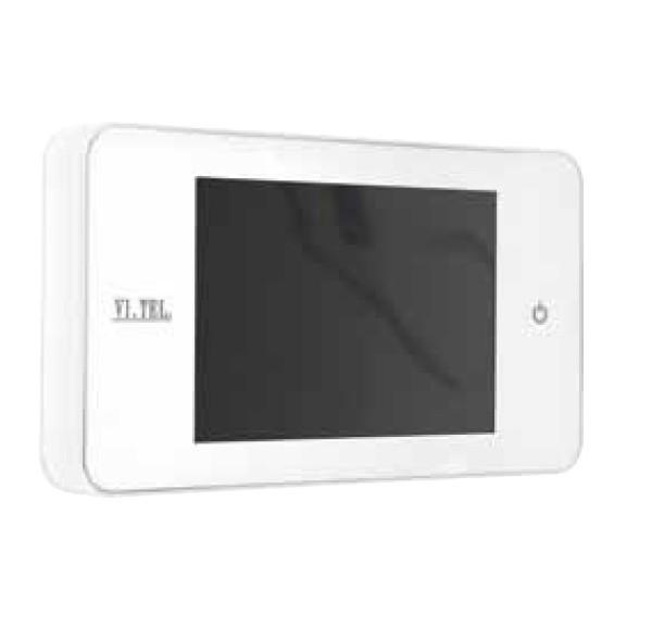 Spioncino digitale Total White E0378