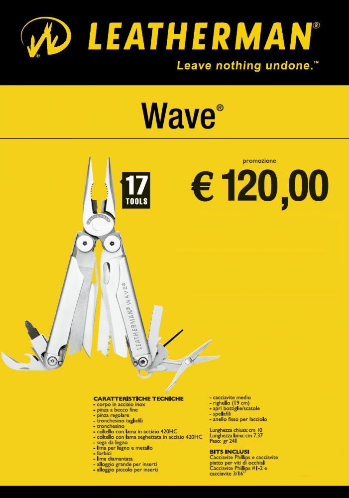 Coupon for leatherman wave