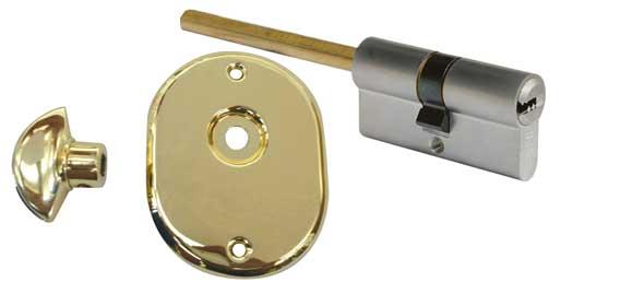 Cilindro di sicurezza chiave a profilo europeo con pomolo for Estrarre chiave rotta da cilindro