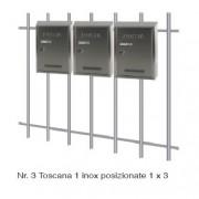 3 x Toscana 1 Inox