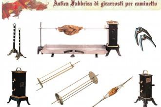 Girarrosti Fuf manuali ed elettrici
