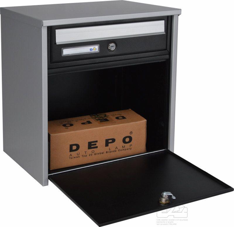 Cassetta per esterno linea american tipo portapane ferramenta online shop nuova ferramenta - Cassetta postale design ...