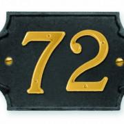 Placca-numeri-P