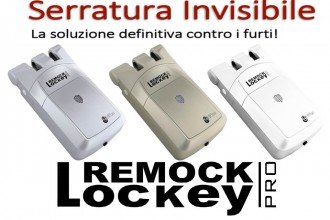 Nuova Serratura Invisibile Remock Lockey PRO