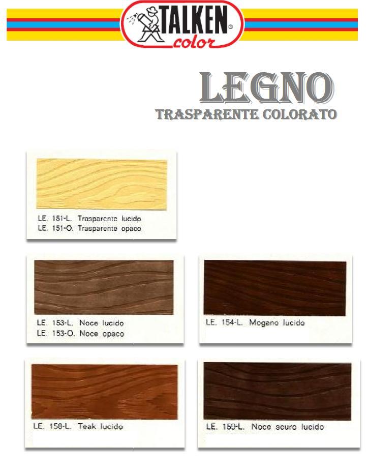 Trasparenti Colorati Per Legno Talken Color Ferramenta Online Shop