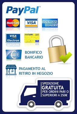 metodi di pagamento e condizioni di vendita