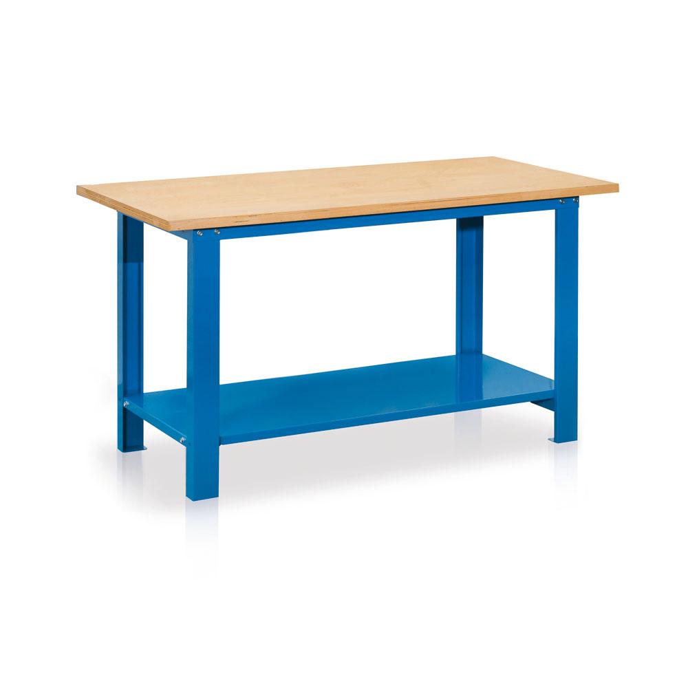 Banco da lavoro con piano in legno for Banco da lavoro giocattolo ikea