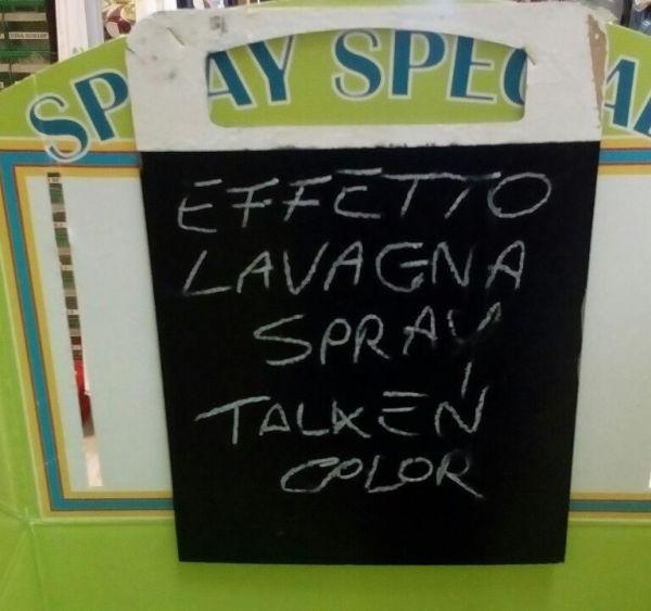 Effetto Lavagna Talken Spray