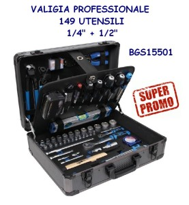 Valigia professionale Bgs 15501