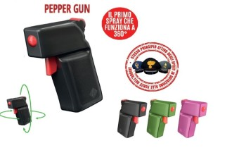 PepperGun 360 Spray Antiaggressione al peperoncino