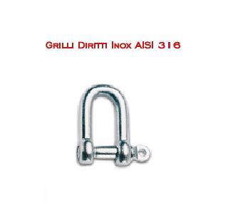 Grilli Inox AISI 316