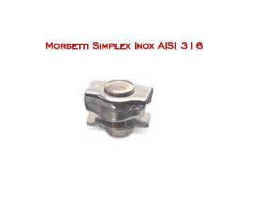 Morsetti Simplex Inox AISI 316