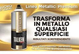 No Leafing Talken Color Linea Metallici Premium