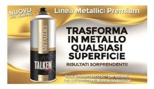 No Leafing Talken Color Linea Metallici Premium