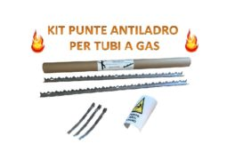 Kit Punte Antiladro per tubi a Gas