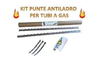 Kit Punte Antiladro per tubi a Gas