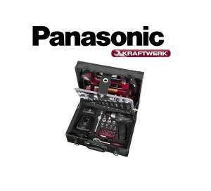 Valigia 95 Utensili Kraftwerk e Panasonic 10,8 V