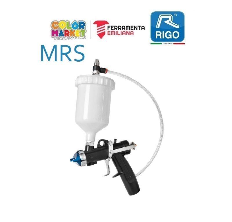 Aerografo Rigo Mrs Multicolori Con Serbatoio Superiore Da 0 6 Lt Colormarket E Ferramenta Emiliana