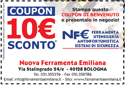 coupon sconto 10 euro